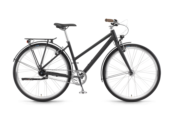 Winora Lane Ladies Bike product image on transparent backgroundg