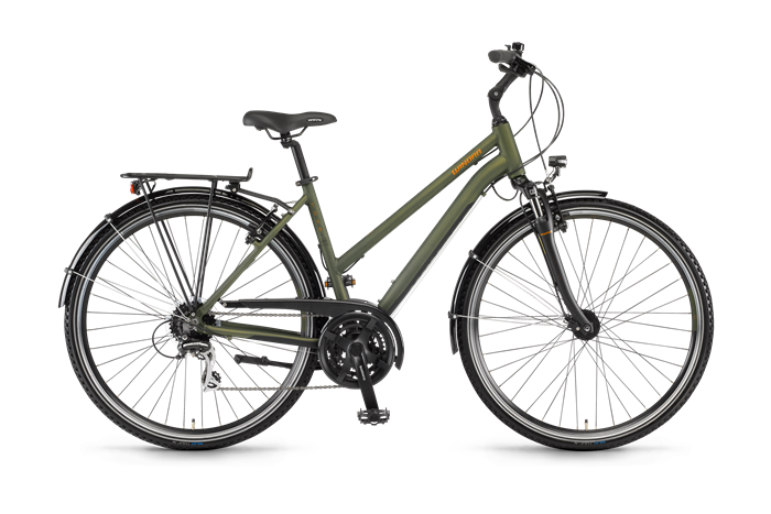 Winora Domingo 24 Ladies Trekking Bike product image on transparent background