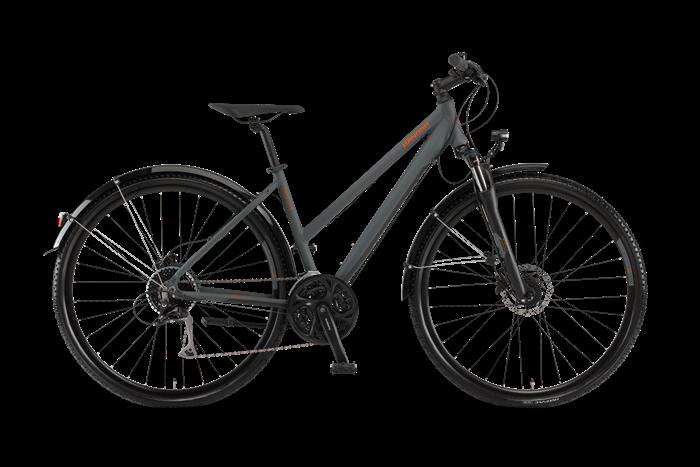 Winora Vatoa 27Disc Ladies Cross and Trekking Bike product image on transparent background