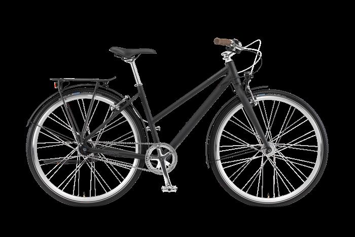 Image du produit Winora Lane vélo de ville pour femmes sur fond transparent