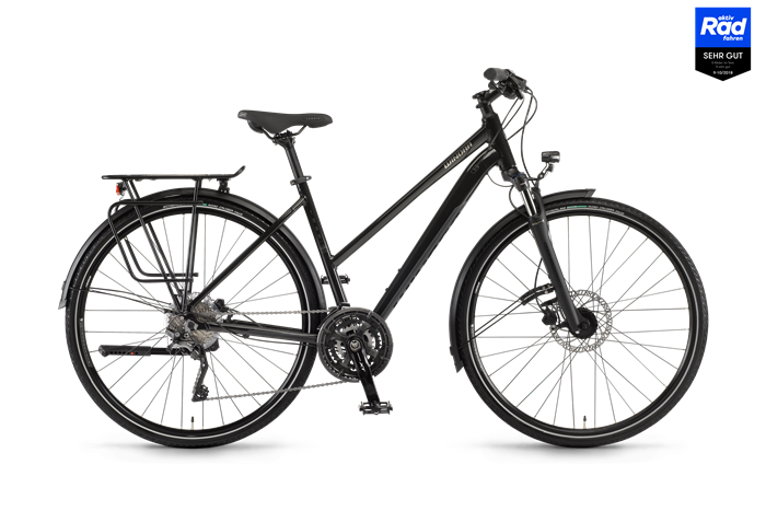 Winora Domingo 30Disc Ladies Trekking Bike product image on transparent background
