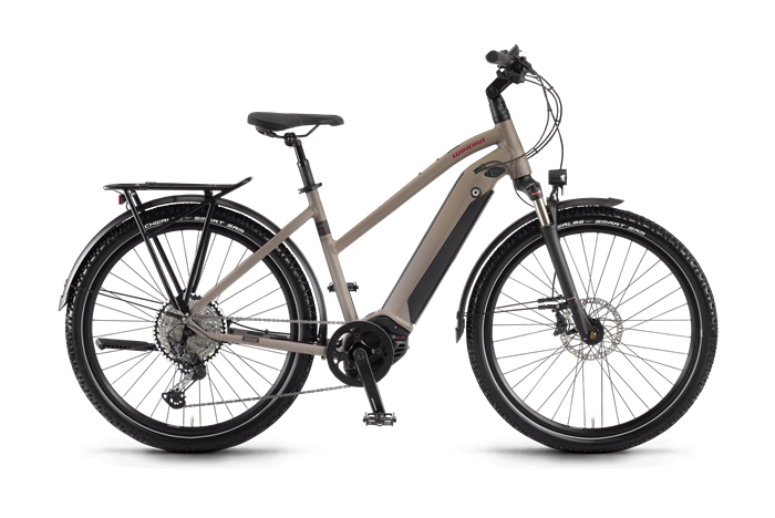 Winora Sinus iX12 Ladies Trekking E-Bike product image on transparent background