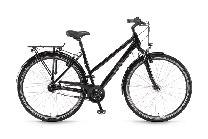 Winora Holiday N7 Damenrad Produktabbildung vor transparentem Hintergrund