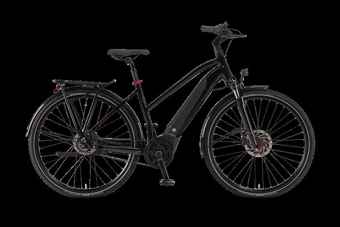 Winora Sinus iR8 Damen City E-Bike Produktabbildung vor transparentem Hintergrund