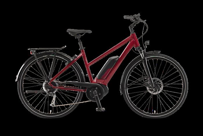 Winora Sinus Tria 9 Damen City E-Bike Produktabbildung vor transparentem Hintergrund