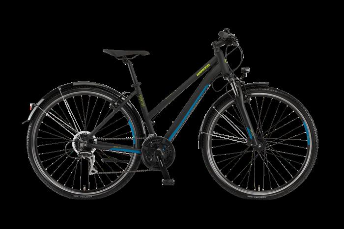 Winora Vatoa 24 Damen Cross- und Trekkingrad Produktabbildung vor transparentem Hintergrund