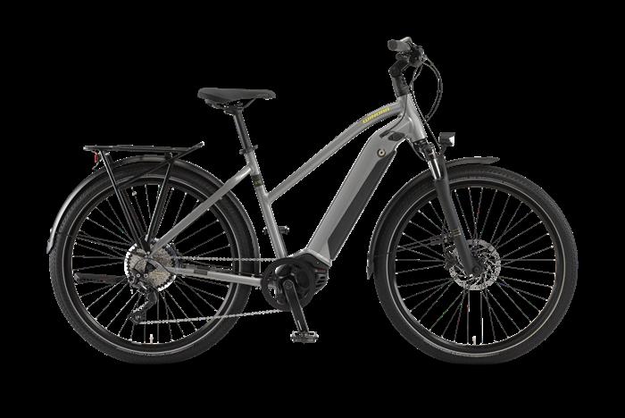 Winora Sinus iX10 Damen Trekking E-Bike Produktabbildung vor transparentem Hintergrund