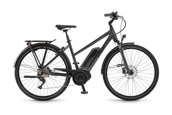 Winora Sinus Tria Ladies City E-Bike product image on transparent background
