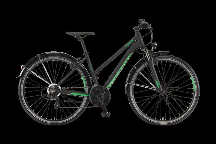 Winora Vatoa 21 Damen Cross- und Trekkingrad Produktabbildung vor transparentem Hintergrund