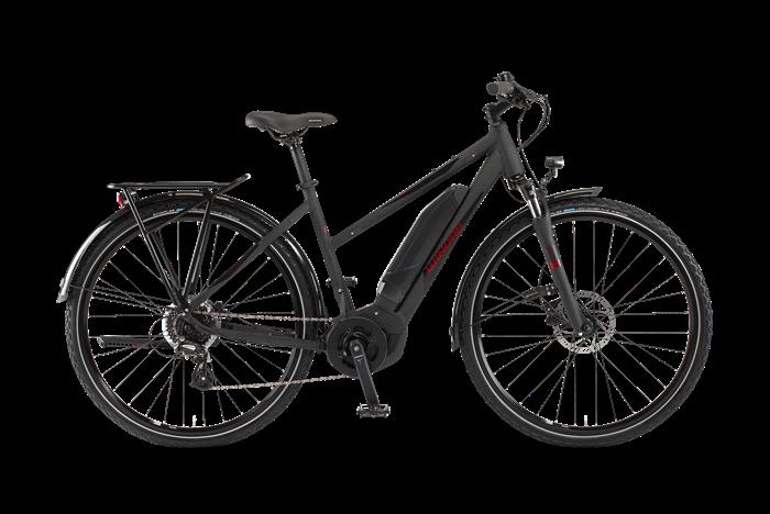 Winora Yucatan 8 Damen Trekking E-Bike Produktabbildung vor transparentem Hintergrund