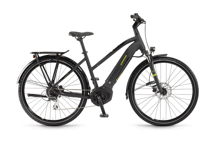 Winora Yucatan i8 Ladies Trekking E-Bike product image on transparent background