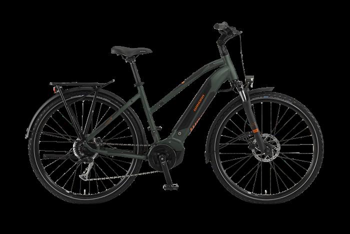 Image du produit Winora Yucatan i9 Ladies Trekking E-Bike sur fond transparent
