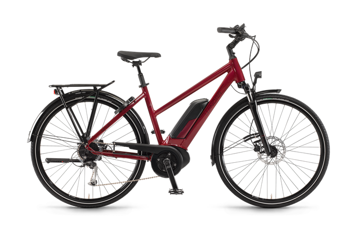 Winora Sinus Tria 9 Ladies City E-Bike product image on transparent background