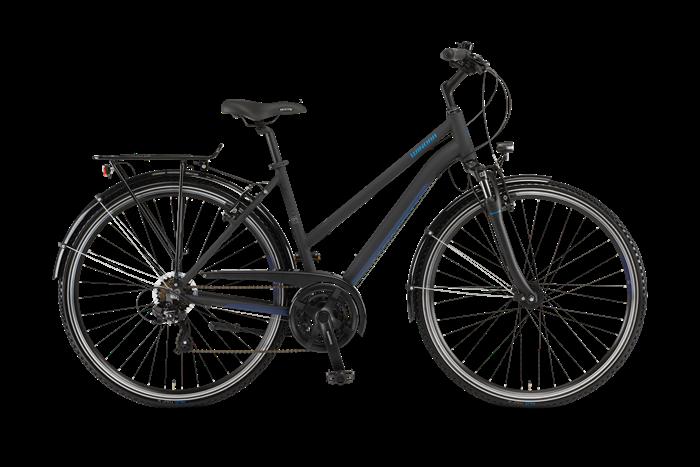 Winora Domingo 21 Ladies Trekking Bike product image on transparent background