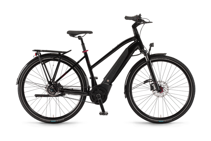 Winora Sinus iR8 Ladies City E-Bike product image on transparent background