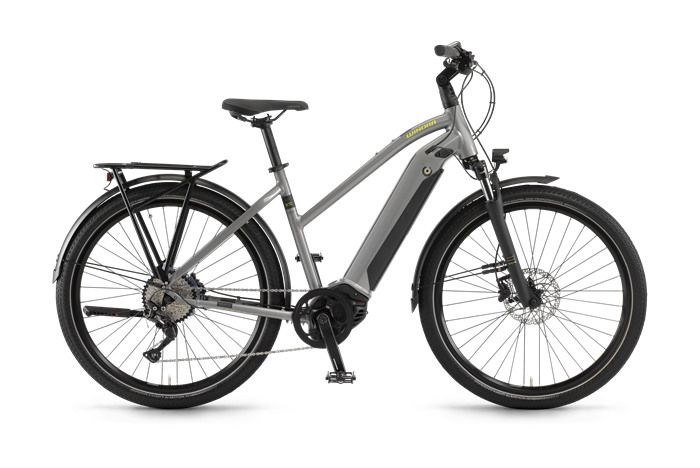 Winora Sinus iX10 Ladies Trekking E-Bike product image on transparent background